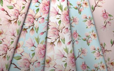 Collection Magnolias et Coton