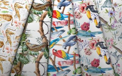 Kolekcja Tropikalne Zwierzęta