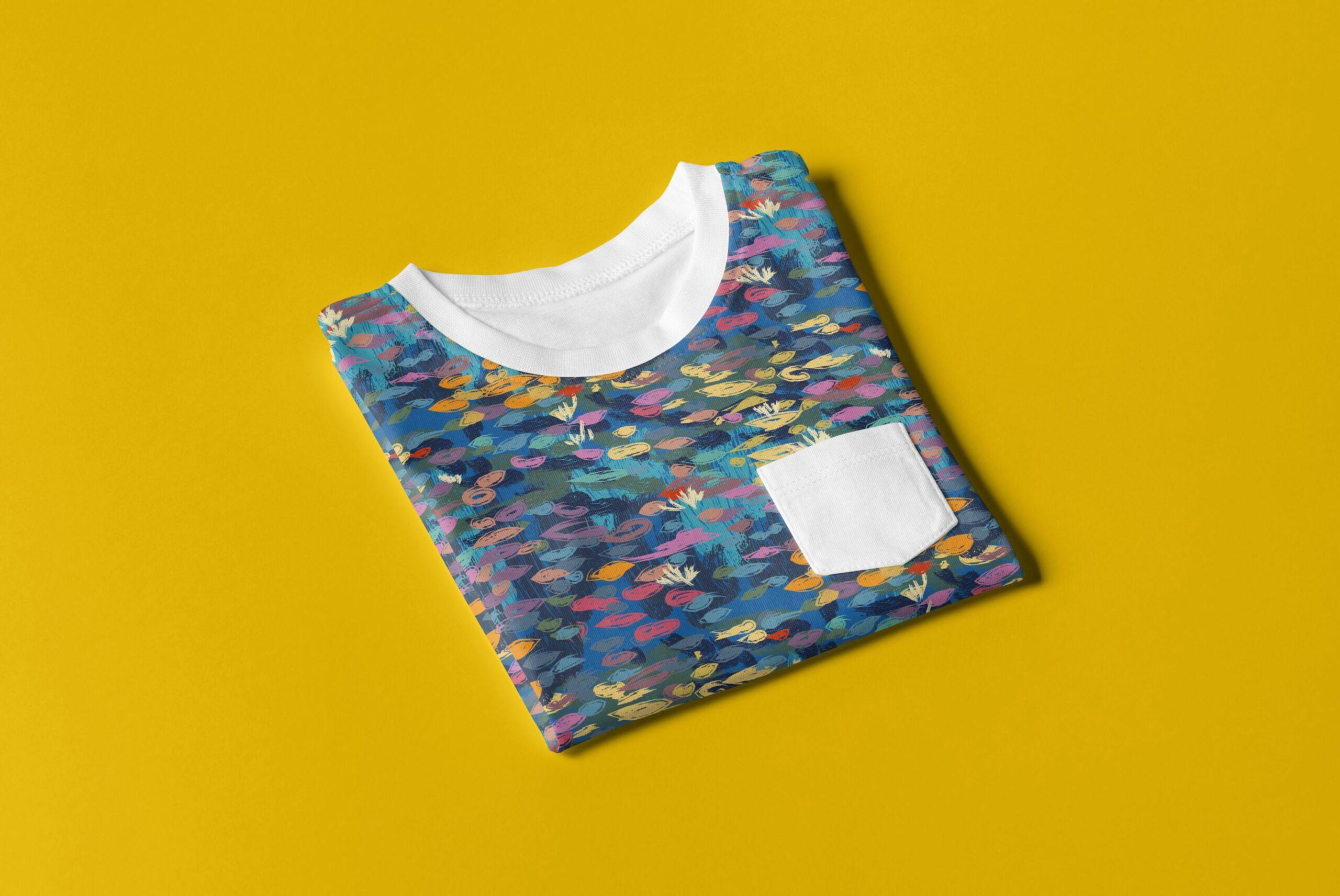 T-shirt dziecięcy wzór Monet